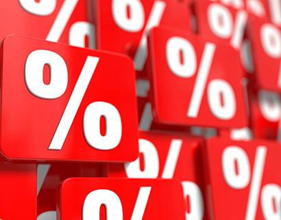 Максимальная ставка топ-10 банков по рублевым вкладам снизилась до 9,76%